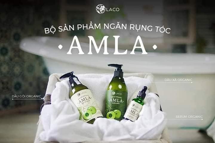 Bộ dầu gội Amla Laco