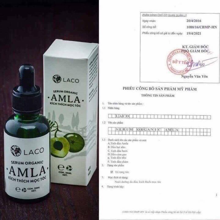 Serum dưỡng tóc Amla Laco