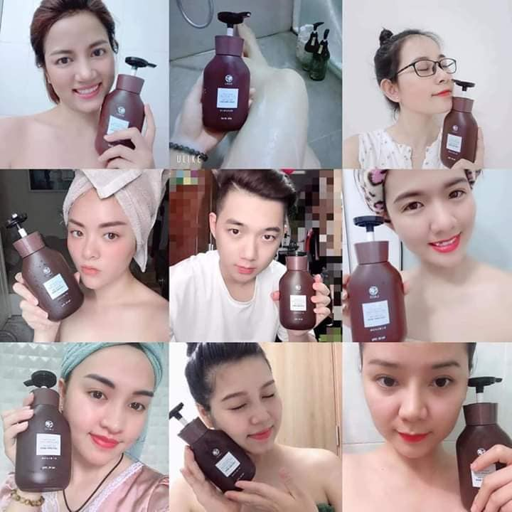 Công dụng của sữa tắm men rượu Sake Laco
